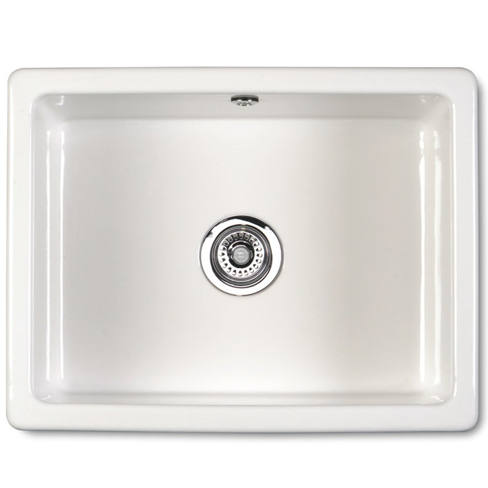 Kitchen Sinks White Porcelain : ... Single Bowl Ceramic Sinks ? View All Shaws Single Bowl Ceramic Sinks