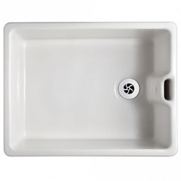 Shaws Pendle 1.0 Bowl White Ceramic Belfast Kitchen Sink PENDLE-WH