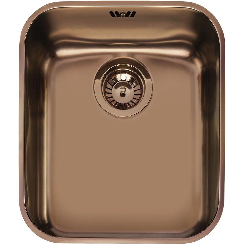 Smeg Alba 1 0 Bowl Stainless Steel Copper Pvd Undermount Kitchen Sink Um40ra2