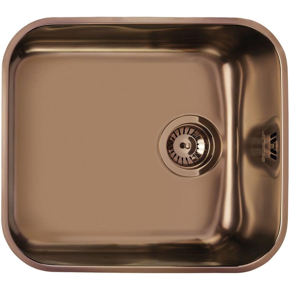 Smeg Alba 1 0 Bowl Stainless Steel Copper Pvd Undermount Kitchen Sink Um45ra2