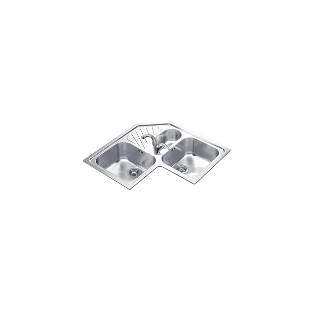 Undermount Corner Kitchen Sinks Stainless Steel : View all smeg view all corner sinks view all smeg corner sinks