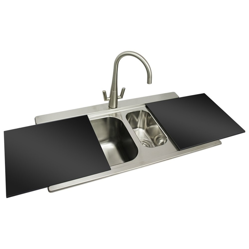 Black Stainless Kitchen Sink : ... Steel Kitchen Sinks ? View All Smeg Stainless Steel Kitchen Sinks