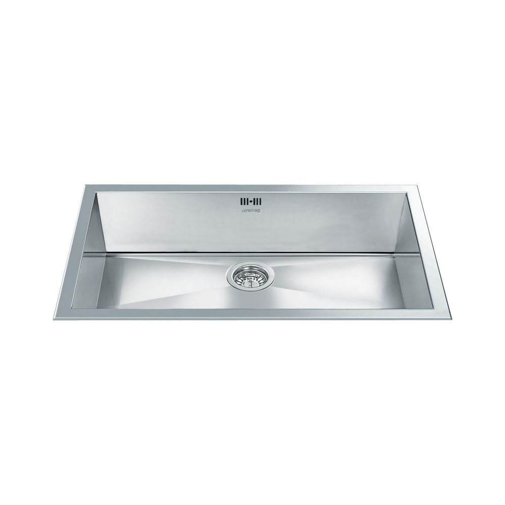 Brushed Stainless Steel Sinks Kitchen : ... All Smeg ? View All 1.0 Bowl Sinks ? View All Smeg 1.0 Bowl Sinks