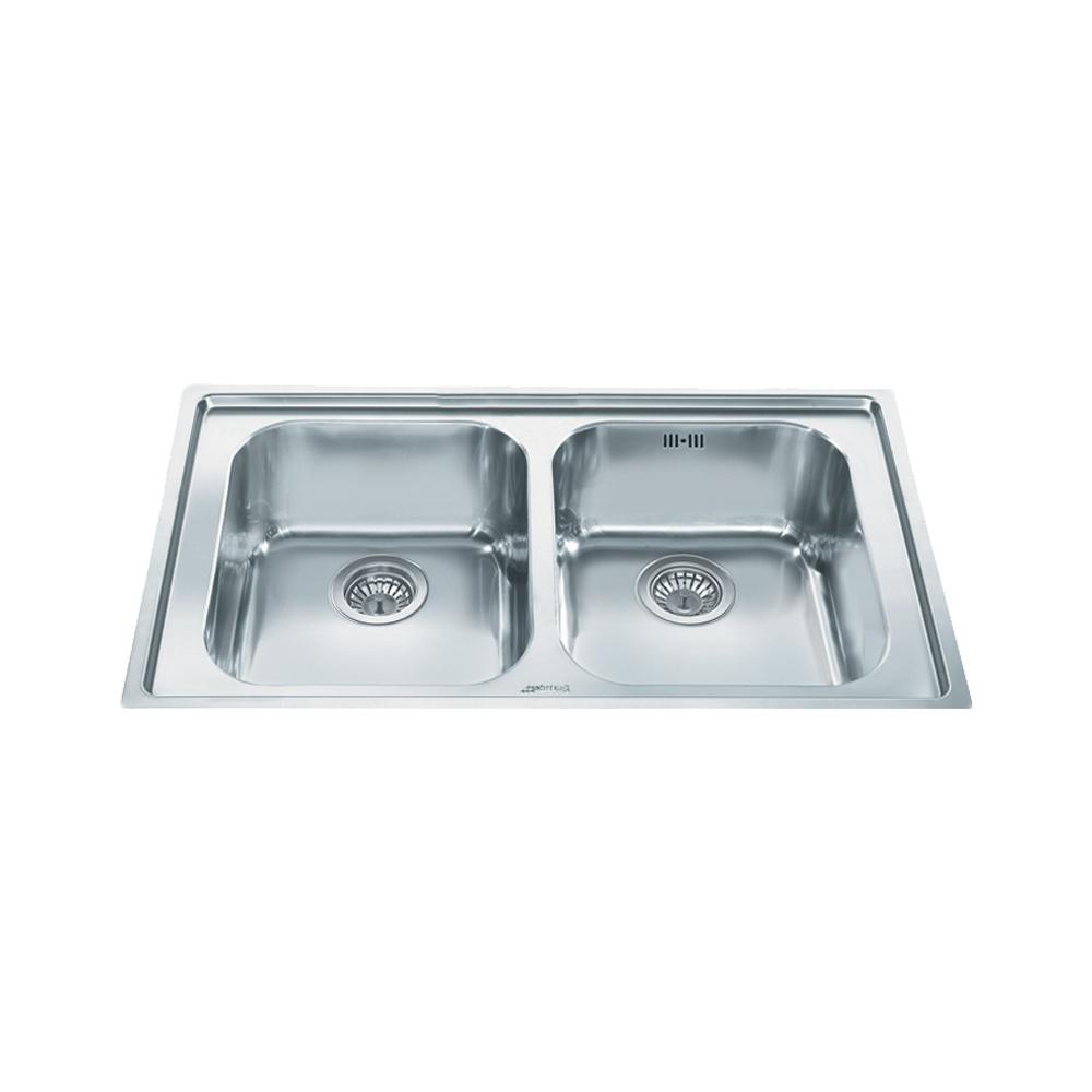 Smeg Rigae 2.0 Bowl Brushed Stainless Steel Kitchen Sink & Waste ...