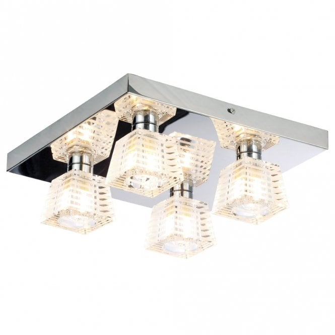 spa lighting for bathroom. Spa Bathroom Lighting Aquila 4 Light Flush Ceiling IP44 For