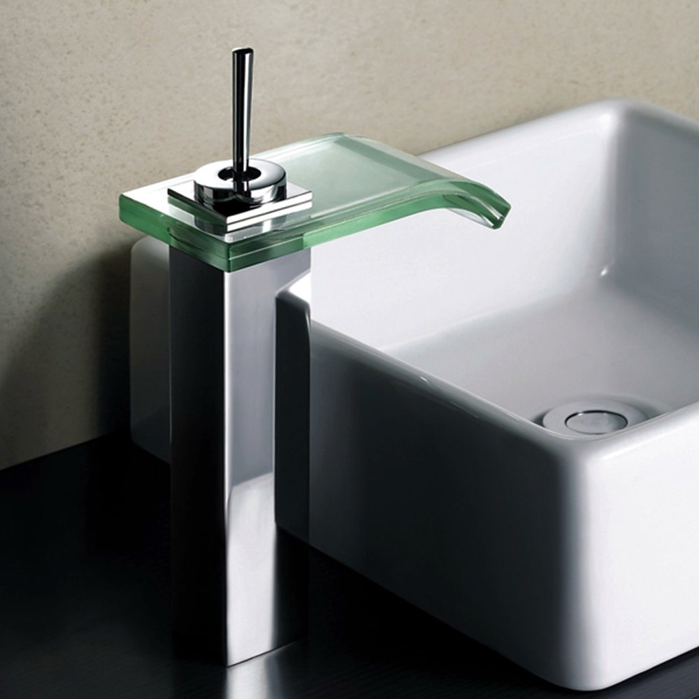 bathroom taps waterfall taps surf tall waterfall bathroom