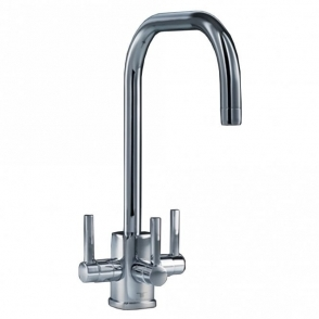 71f46c5a4e2 Triflow Concepts U Spout Nickel 3 Way Kitchen Sink Mixer   Filter Tap  TF-KT34U ...