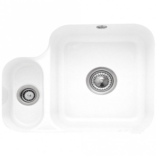 Villeroy & Boch Cisterna 60b 1.5 Bowl White Ceramic Kitchen Sink ...