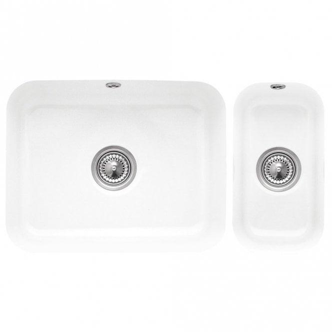 Villeroy & Boch Cisterna 60c26 1.5 White Ceramic Undermount Kitchen ...