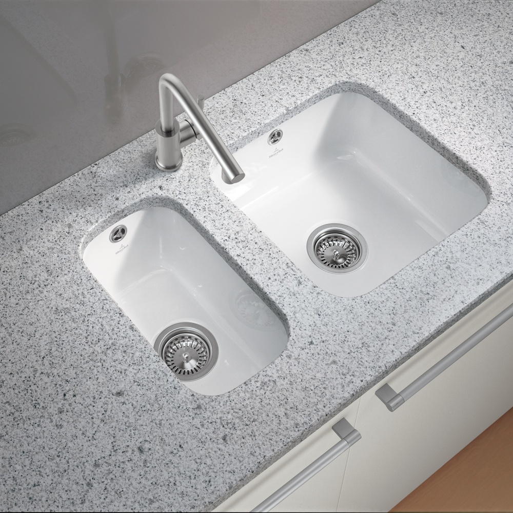 wonderful Ceramic Undermount Kitchen Sinks #4: White Ceramic Undermount Kitchen Sink Zitzat