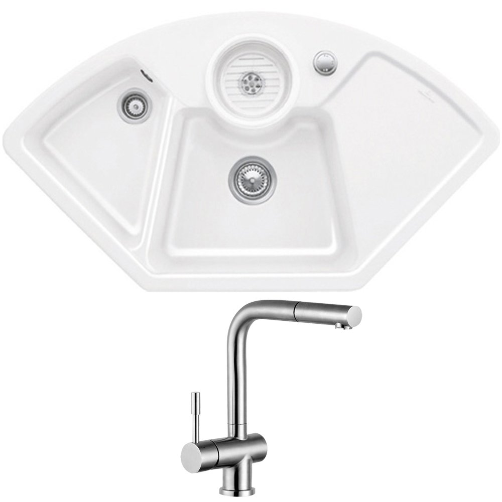 Corner Kitchen Sink Uk : ... all ceramic kitchen sinks view all villeroy boch ceramic kitchen sinks