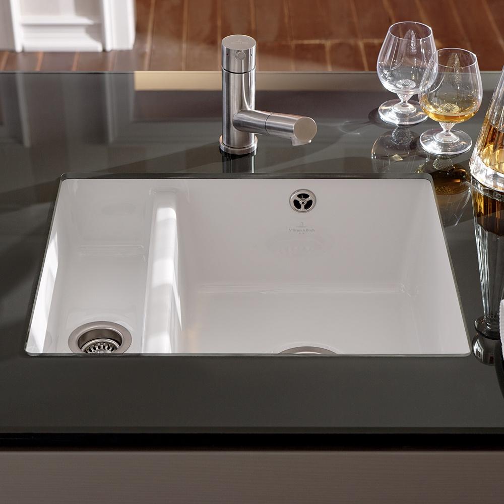 Kitchen Sink White : ... View All Undermount Kitchen Sinks ? View All 1.5 Bowl Ceramic Sinks